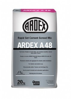 A48 RAPID SET SCREED -ARDEX