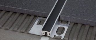 10MM EXPANSION JOINT BLACK  -TILERS MATE