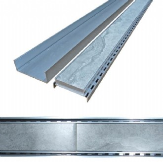 STRIP DRAIN ALUMINIUM GRATE 100MM (1LM) CELLENI - PLEASE NOTE:  Please ensure your measurements are correct - Once these have been cut for you there are NO RETURNS.